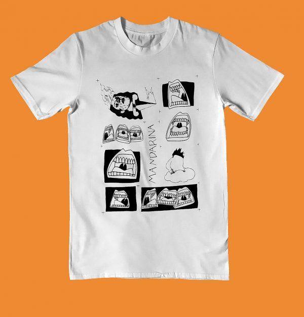 camiseta alsina mandarina